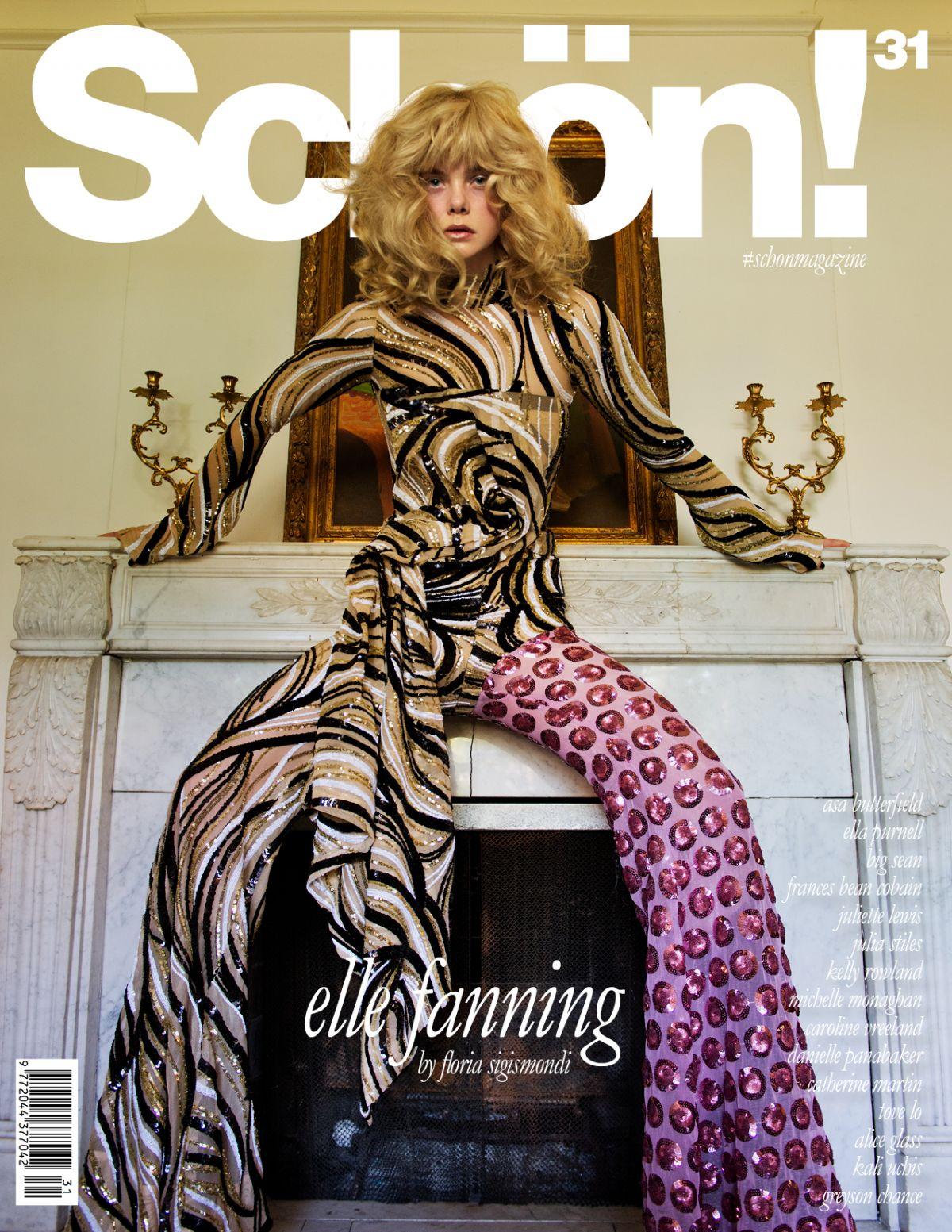 ELLE FANNING in Schon! Magazine #31, October 2016