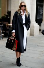 ELLE MACPHERSON Out and About in London 10/25/2016