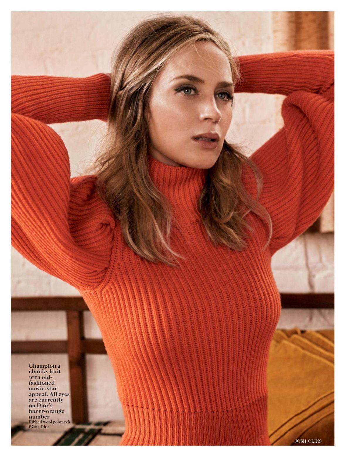 EMILY BLUNT in Vogue Magazine, UK November 2016 Issue ... Emily Blunt