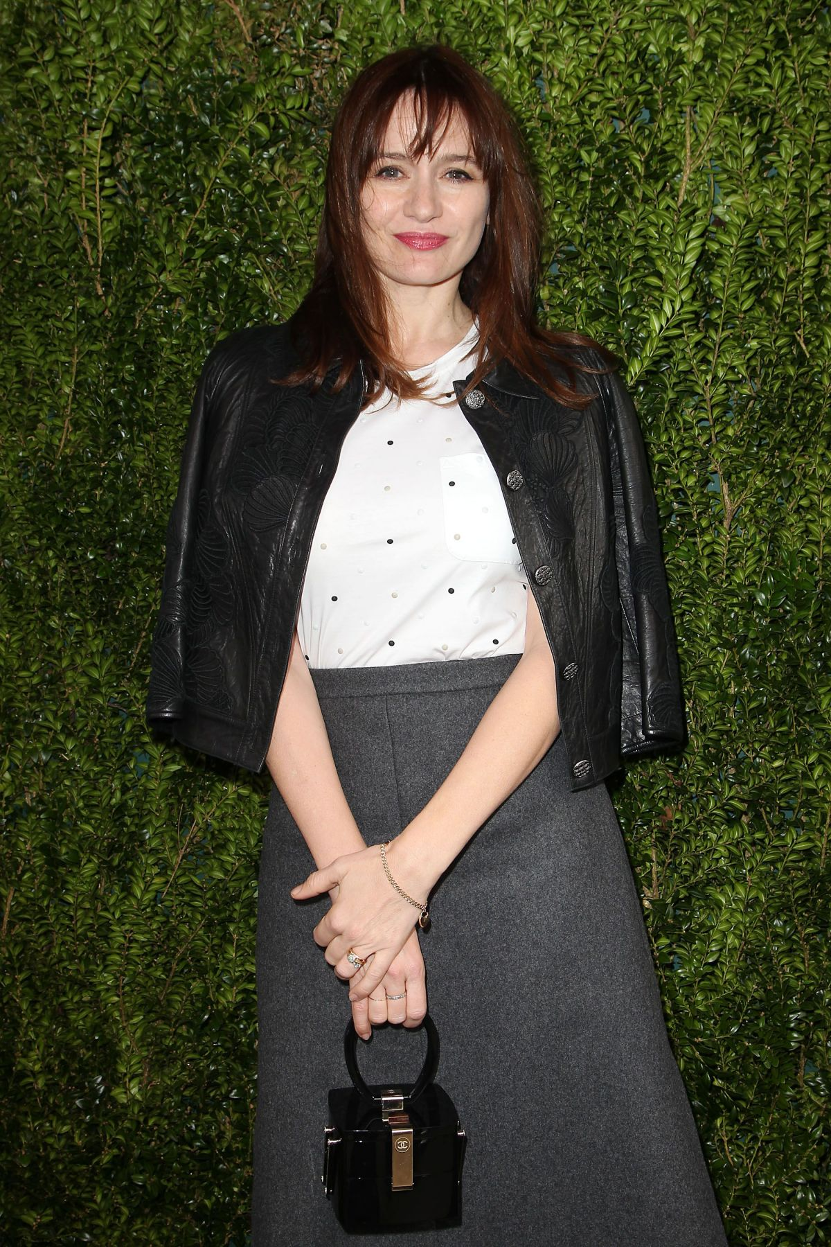 EMILY MORTIMER at Tribeca Chanel Women's Filmmaker Program Luncheon in New York 10/25/2016