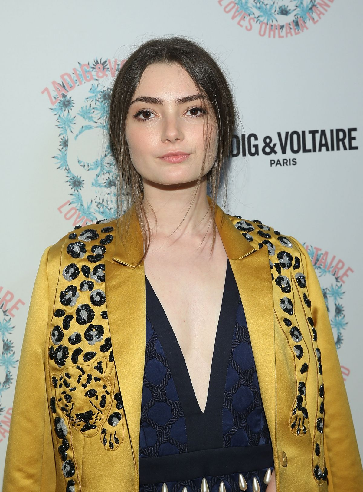 EMILY ROBINSON at Zadig & Voltaire and Flaunt Celebrate Fall/Winter 2016 Collection in Los Angeles 10/27/2016