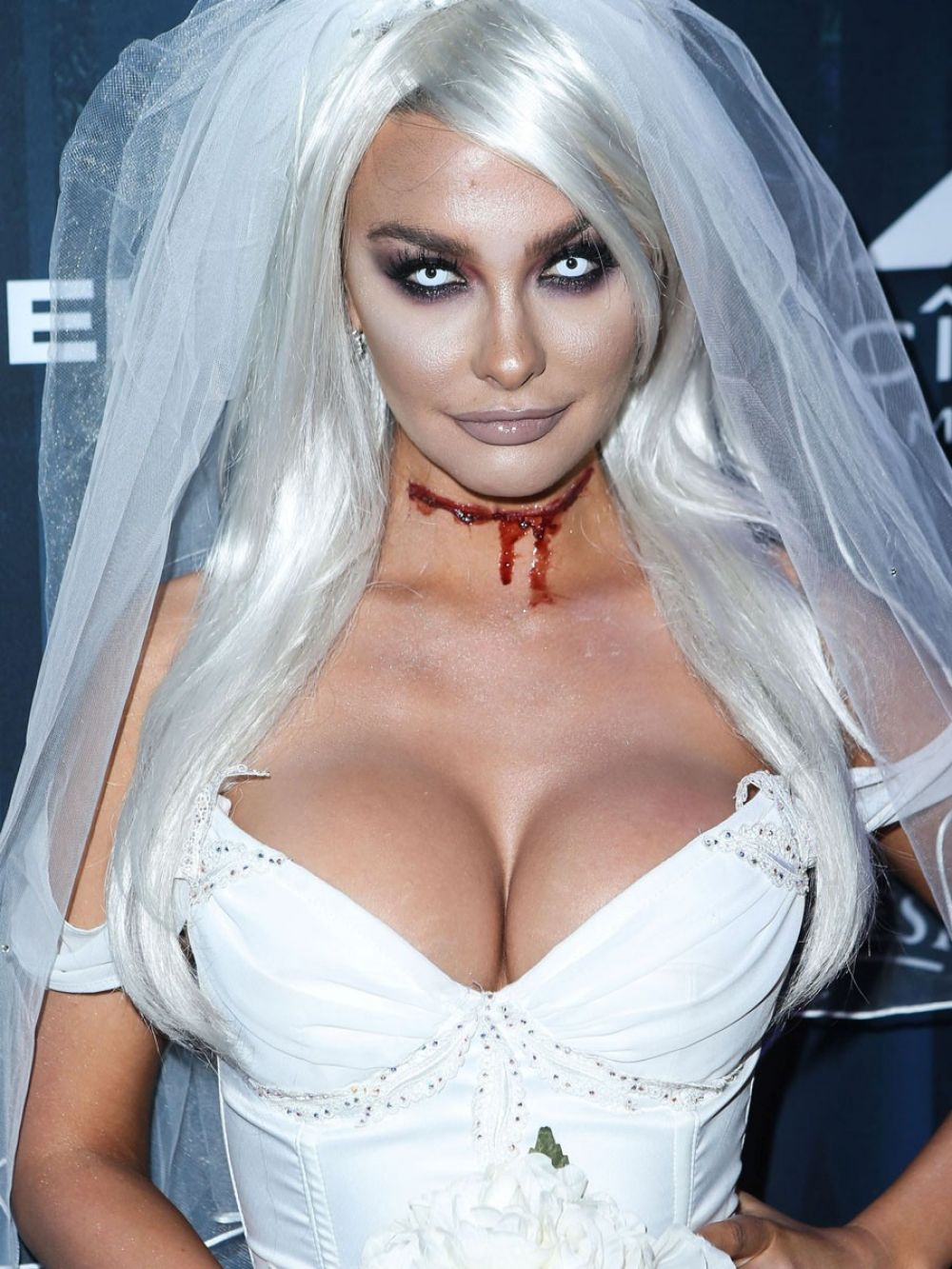 EMILY SEARS at Maxim Halloween Party in Los Angeles 10/22/2016