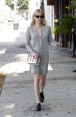 EMMA ROBERTS Out Shopping in Los Angeles 10/13/2016
