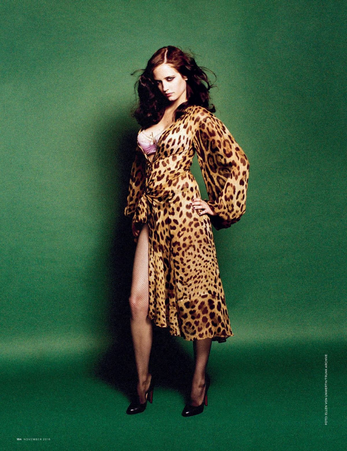 EVA GREEN in GQ Magazine, Germany November 2016 Issue ... Eva Green