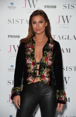 FERNE MCCANN at Sistaglam Launch Party in London 10/26/2016