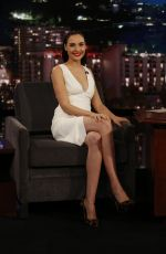 GAL GADOT at Jimmy Kimmel Live 10/20/2016