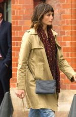 GEMMA ARTERTON on the Set of