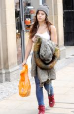 GEORGIA MAY FOOTE Out Shopping in Sheffield 10/24/2016