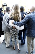 GIGI HADID Out and About in Paris 10/03/2016