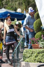 GWEN STEFANI at Disneyland in Anaheim 10/12/2016