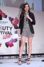 HAILEE STEINFELD at Hearst Fujingaho Beauty Festival in Tokyo 10/10/2016