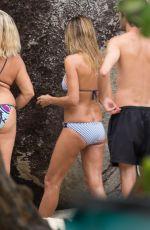 HEIDI KLUM in Bikini on the Set of a Photoshoot in the British Virgin Islands 09/28/2016