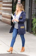 HILARY DUFF Out Shopping in Studio City 10/23/2016