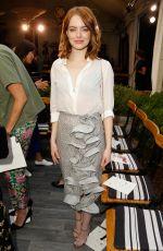 EMMA STONE at cfda/vogue Fashion Fund Fashion Show in Los Angeles 10/26/2016