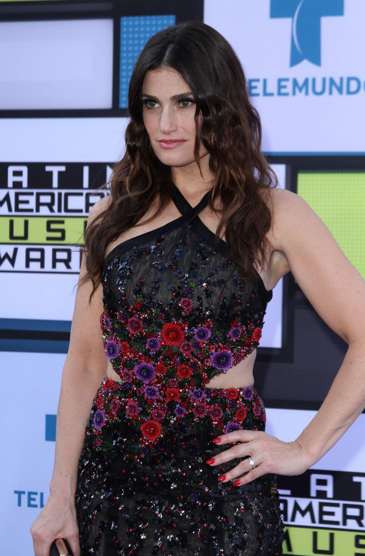 IDINA MENZEL at 2016 Latin American Music Awards in Hollywood 10/06/2016