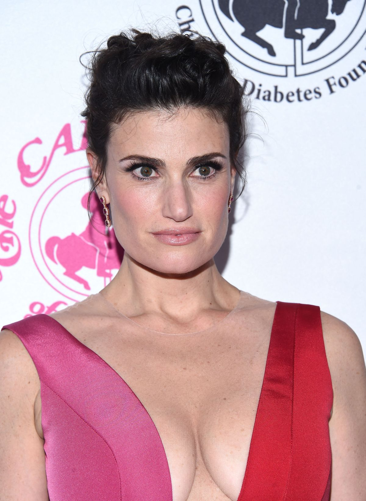 IDINA MENZEL at Carousel of Hope Ball in Beverly Hills 10/08/2016