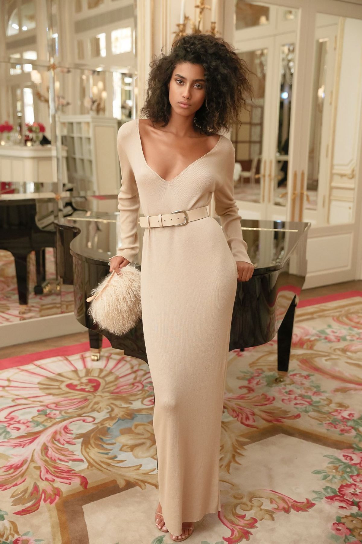 IMAAN HAMMAM at Americans in Paris Cocktail Party 09/30/2016