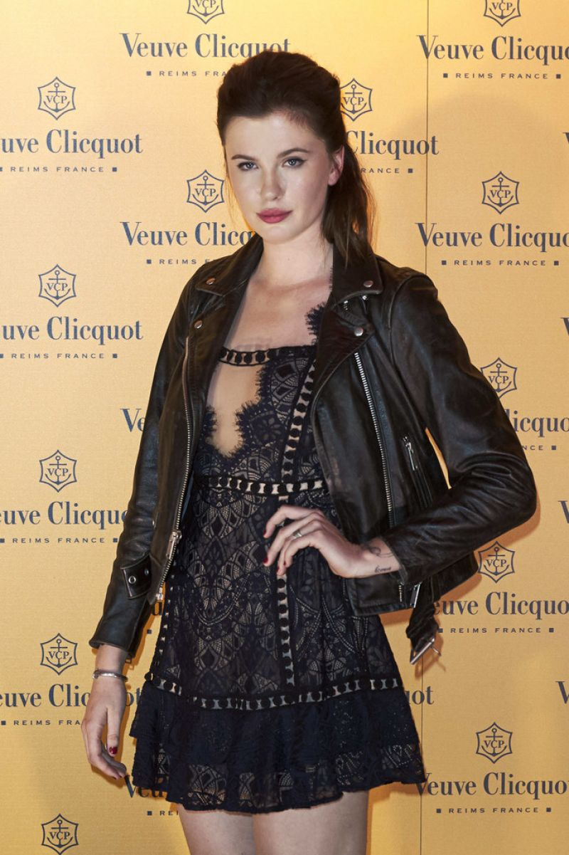IRELAND BALDWIN at Veuve Clicquot Yelloween Party in Madrid 10/27/2016