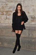 IRINA SHAYK at Givenchy Fashion Show at Paris Fashion Week 10/02/2016