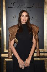IRINA SHAYK at Gold Obsession Party at Paris Fashion Week 10/02/2016