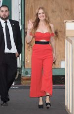 ISLA FISHER at Jimmy Kimmel Live in Hollywood 10/20/2016