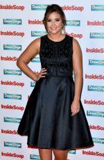 JACQUELINE JOSSA at Inside Soap Awards 2016 in London 10/03/2016