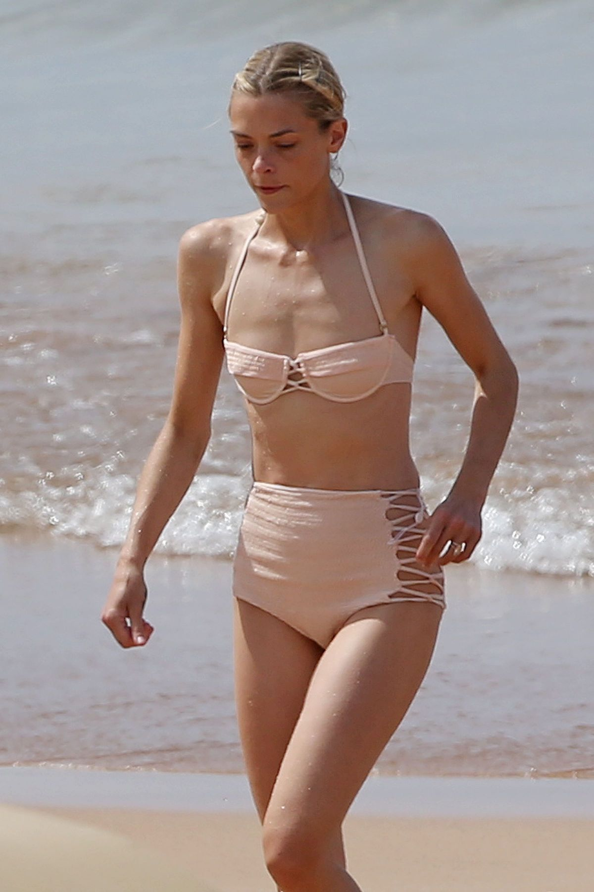 JAIME KING in Bikini at a Beach in Maui 10/27/2016