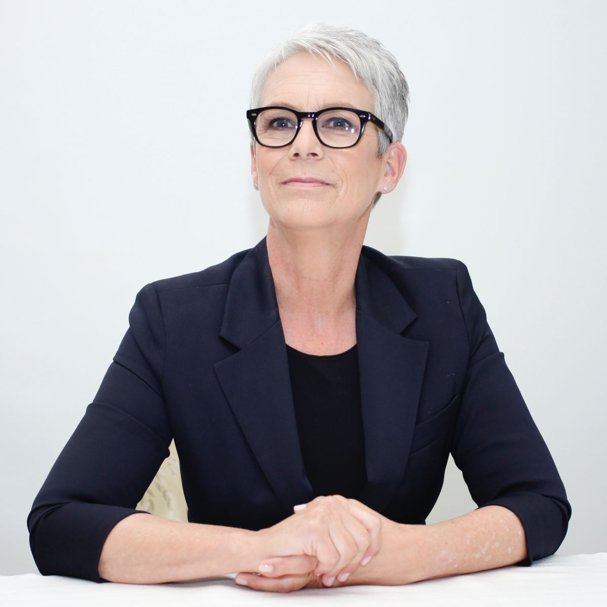 JAMIE LEE CURTIS at 'Scream Queens' Press Conference in Los Angeles 1...