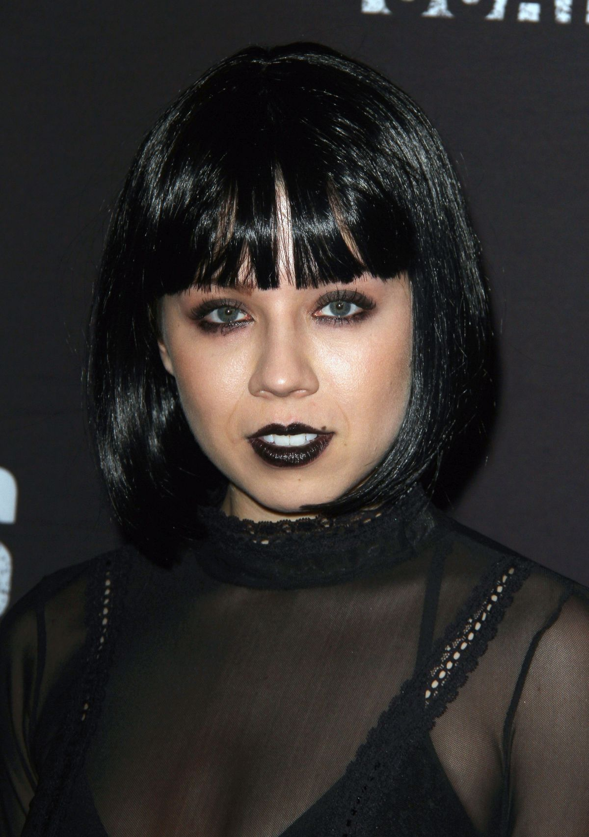 JENNETTE MCCURDY at Knott's Scary Farm Opening Night in Buena Patk 09/30/2016