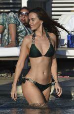 JENNIFER METCALFE in Bikini at a Pool in Ibiza 10/14/2016