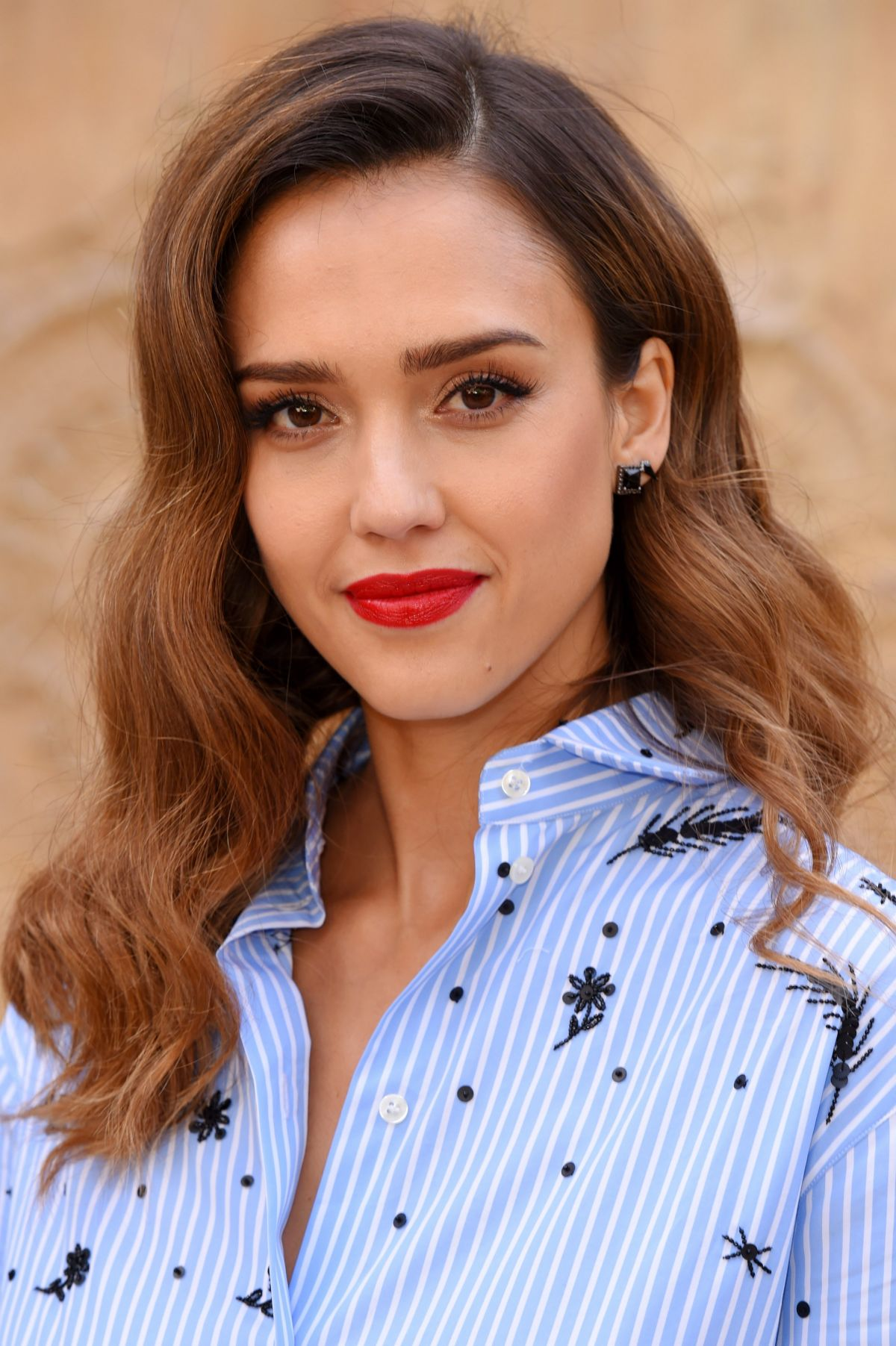 JESSICA ALBA at Valentino Fashion Show at Paris Fashion ... Jessica Alba