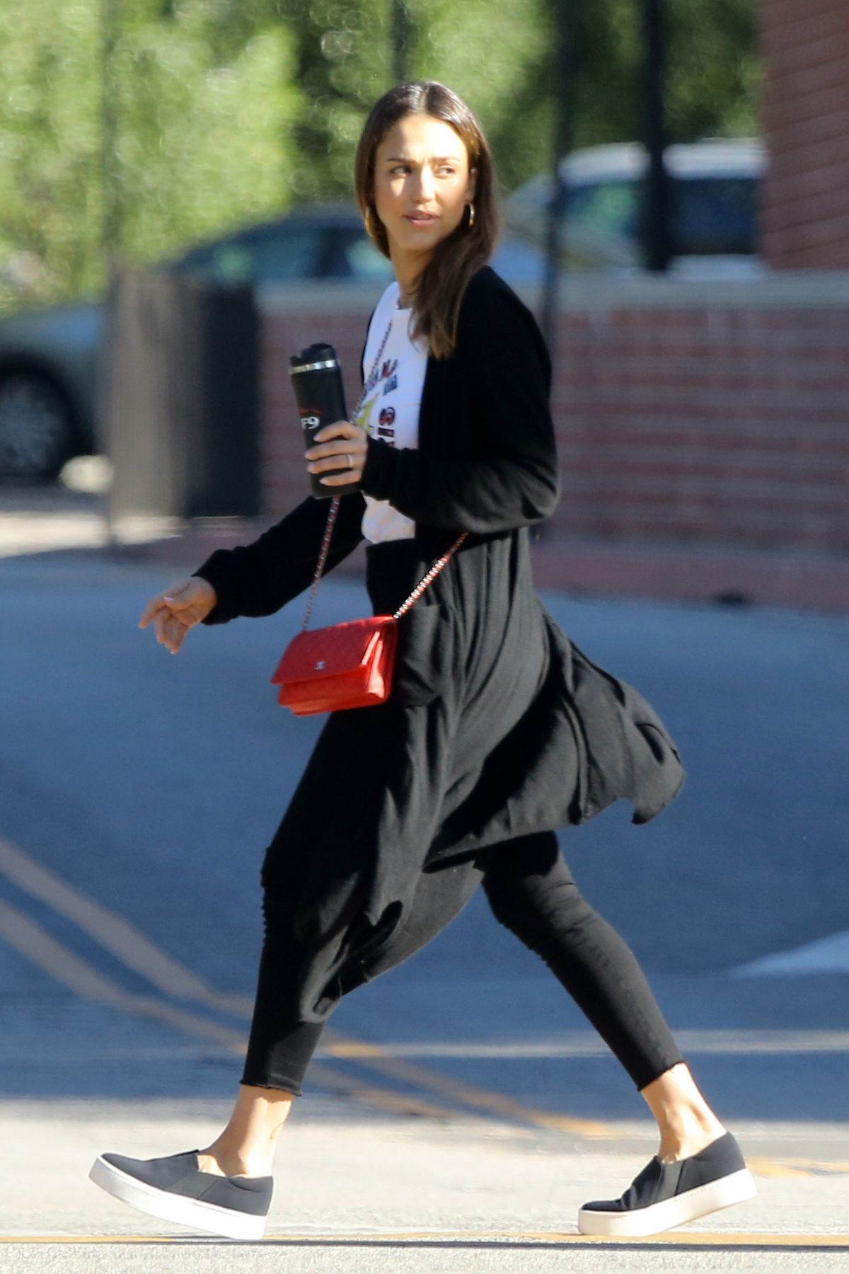 JESSICA ALBA Out and About in Los Angeles 10/20/2016