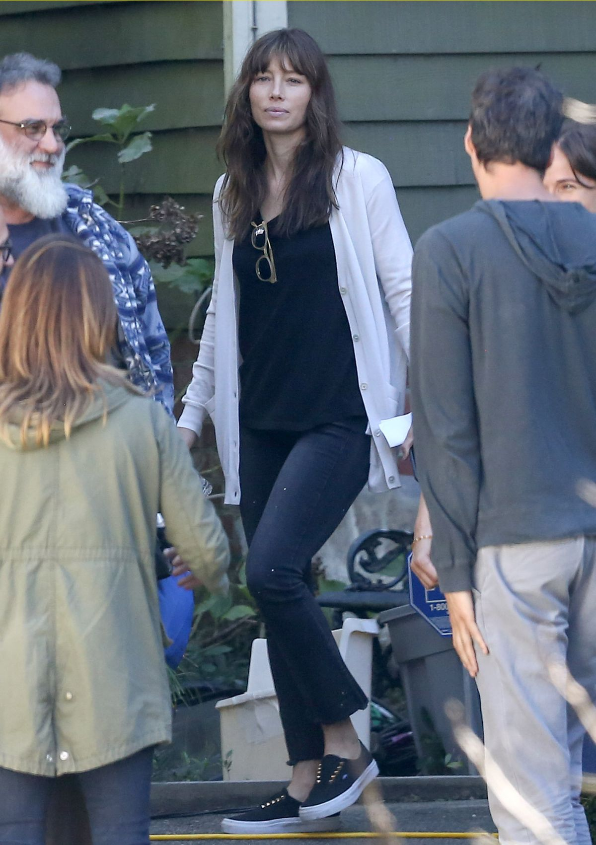 JESSICA BIEL on the Set of 'The Sinner' in Charleston 10 ... Jessica Biel The Sinner