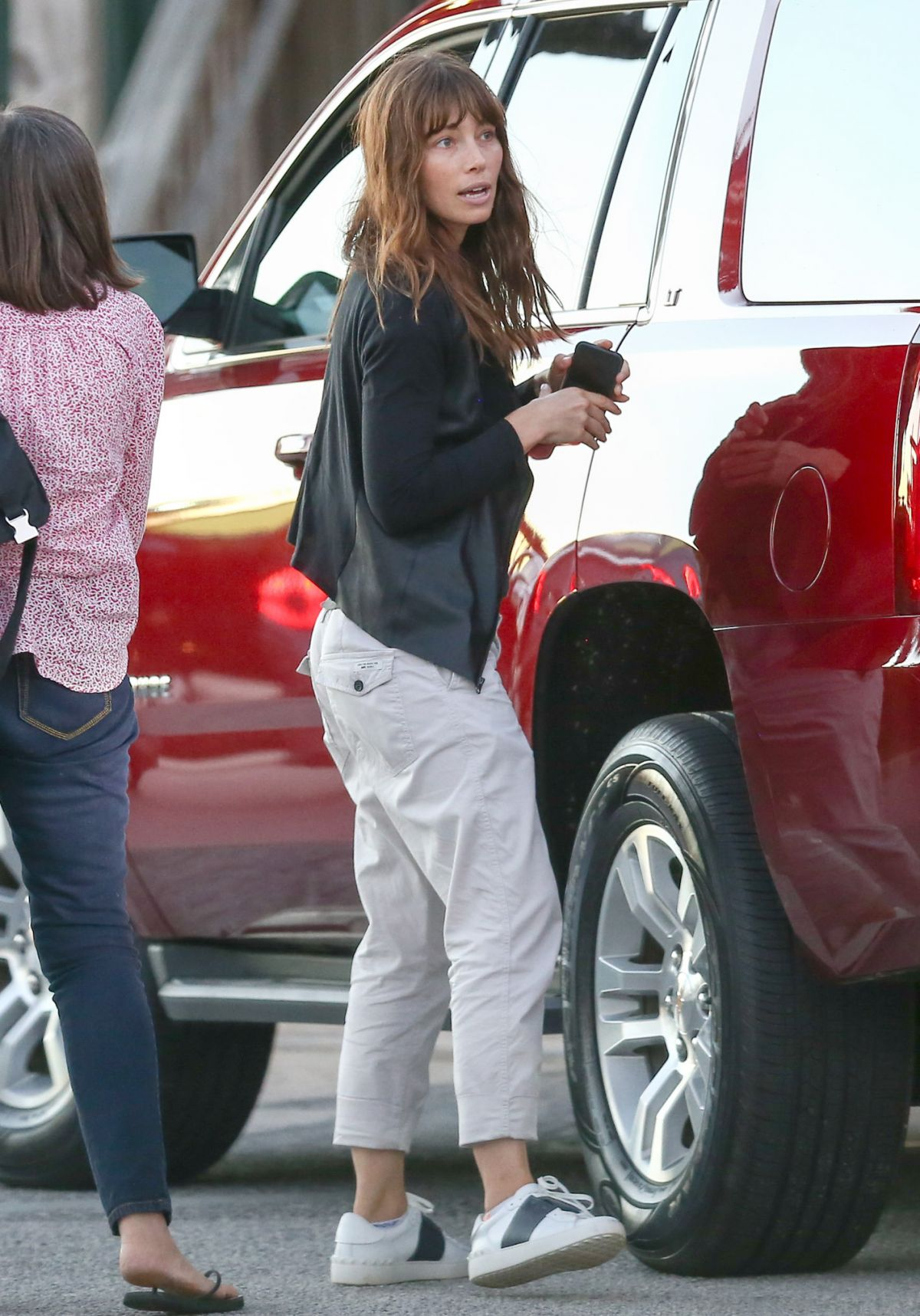 JESSICA BIEL Out and About in Charleston 10/25/2016