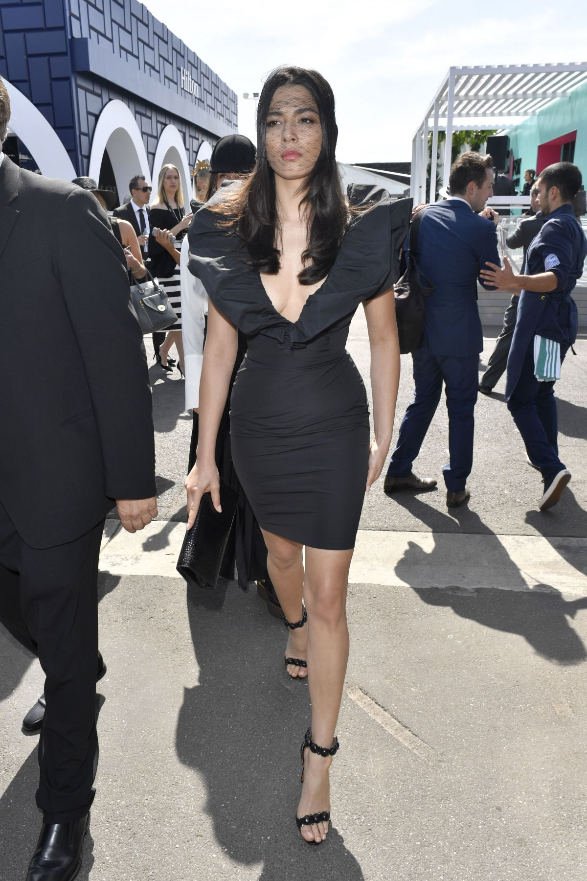 JESSICA GOMES at Derby Day Melbourne Cup Carnival 10/29/2016