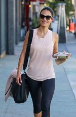JORDANA BREWSTER at Organic Juicery in Beverly Hills 10/20/2016