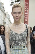 KARLIE KLOSS at Dior Spring/Summer 2017 Fashion Show at Paris Fashion Week 09/30/2016