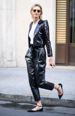 KARLIE KLOSS Out in Paris 10/04/2016