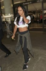 KARREUCHE TRAN at LAX Airport in Los Angeles 10/20/2016