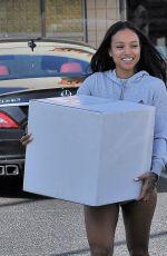 KARREUCHE TRAN Shopping at UPS Store in Los Angeles 10/26/2016