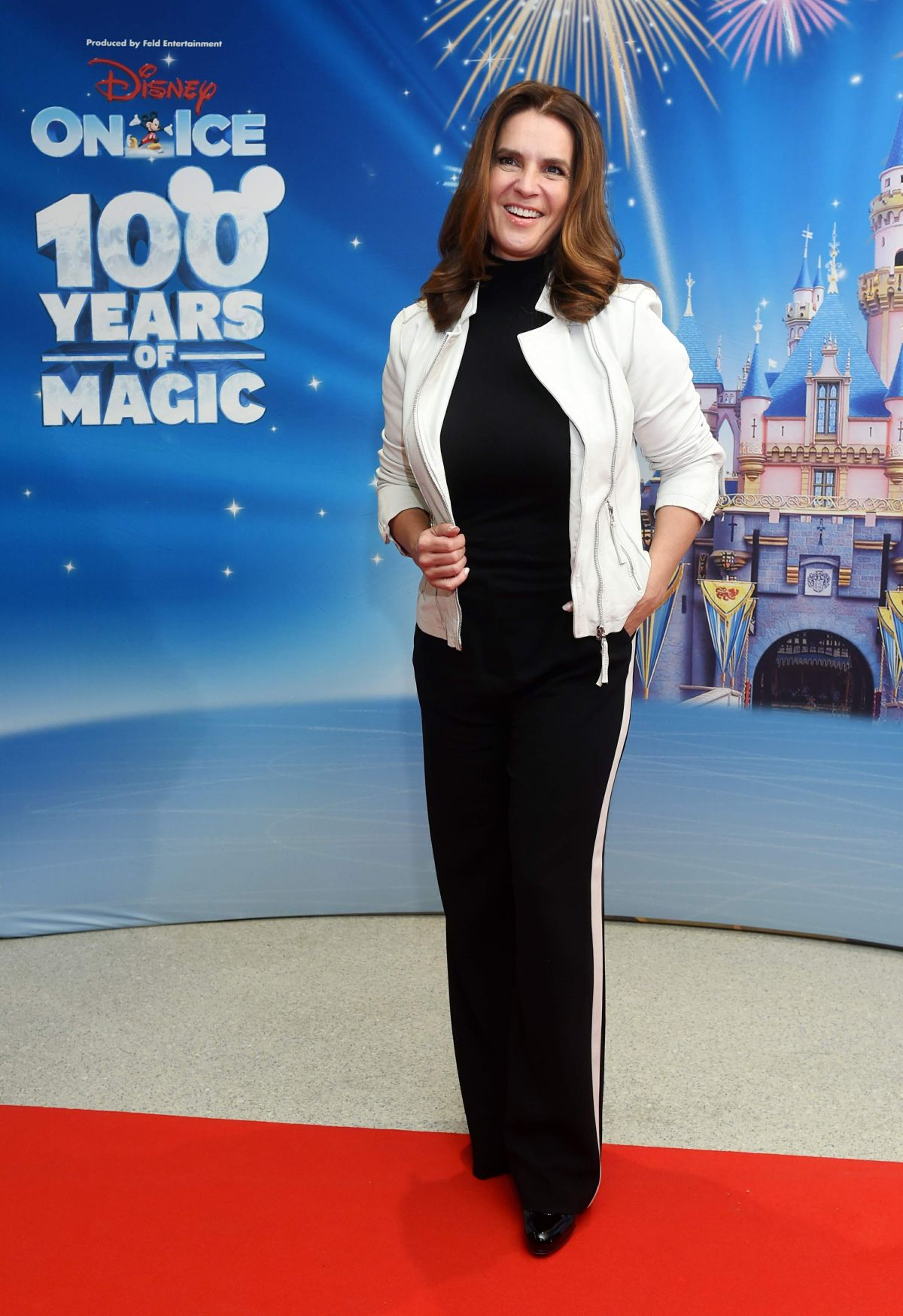 KATARINA WITT at Disney on Ice Premiere in Munich 10/20/2016