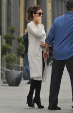 KATE BECKINSALE on the Set of
