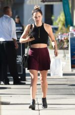 KATHARINE MCPHEE Out Shopping in Los Angeles 10/08/2016