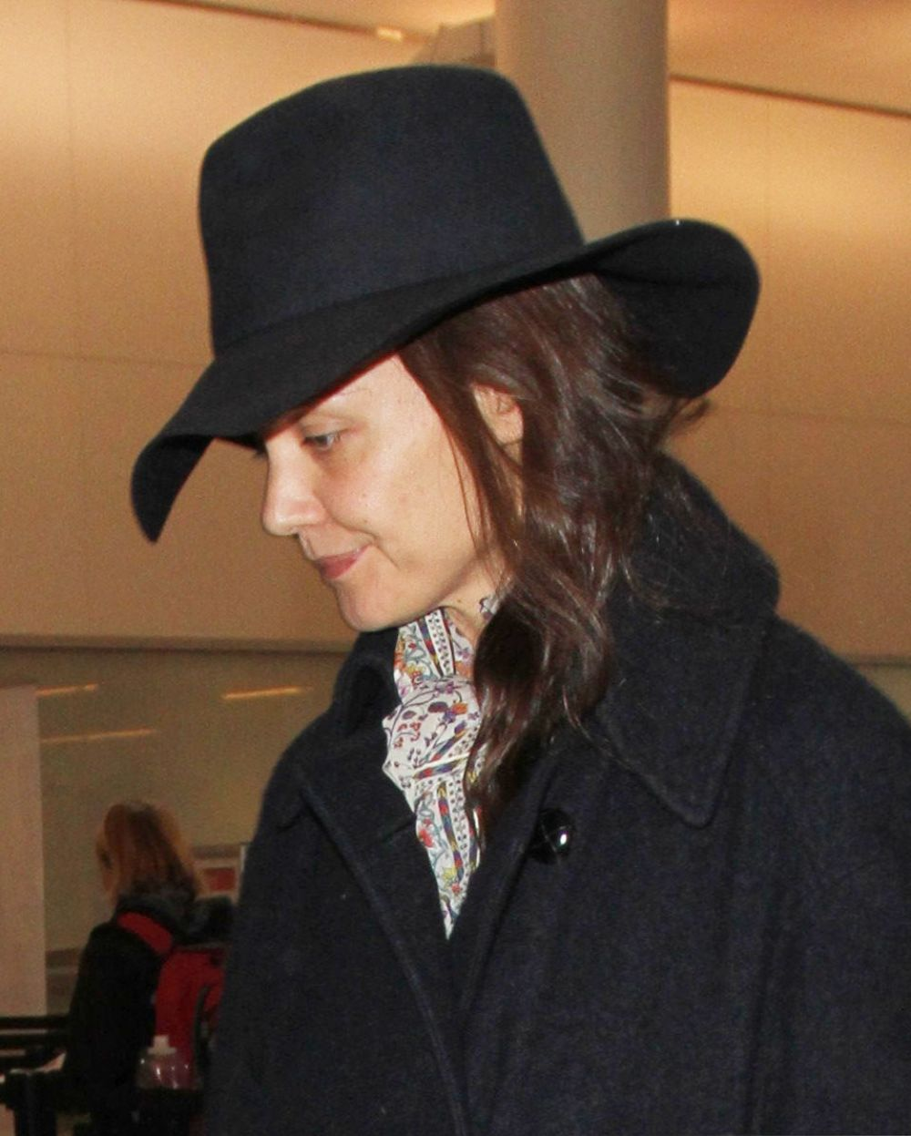 KATIE HOLMES at Los Angeles Internayional Airport 10/24/2016
