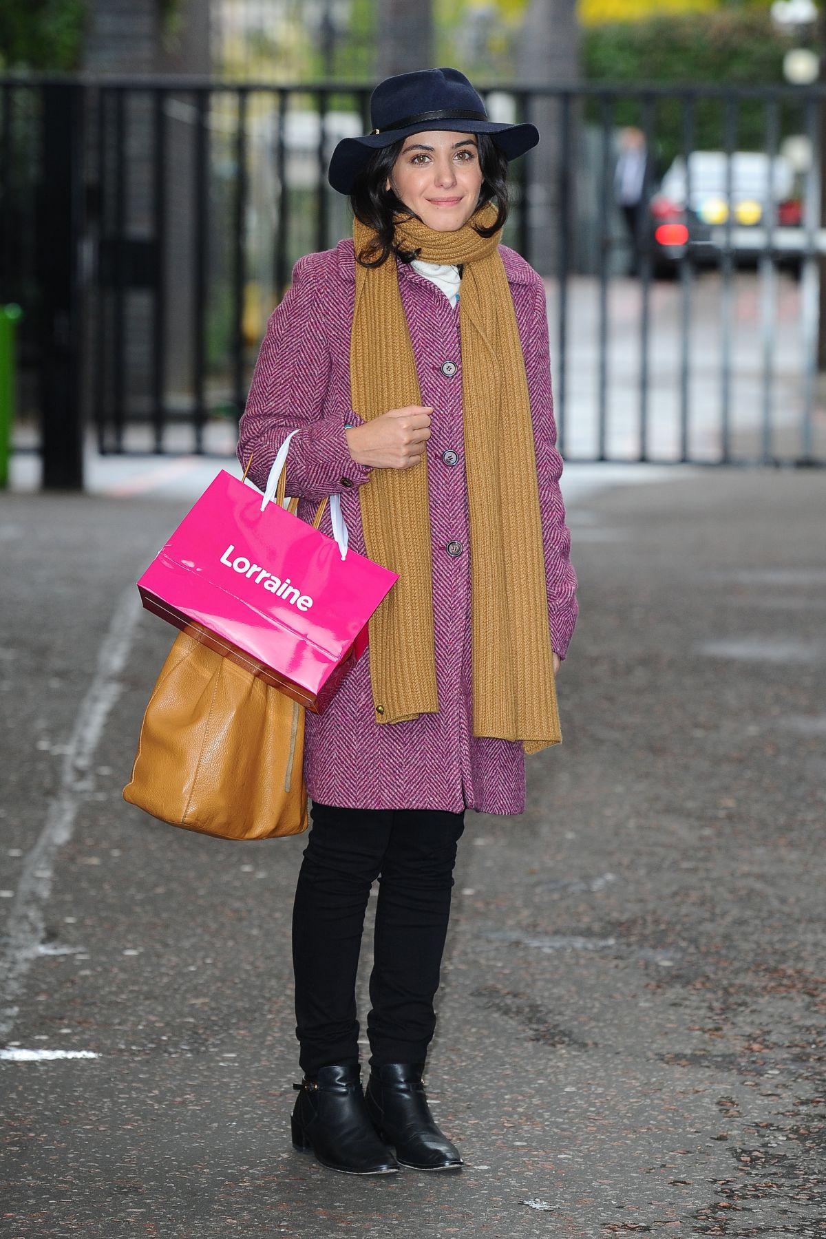 KATIE MELUA at ITV Lorraine Studios in London 10/12/2016