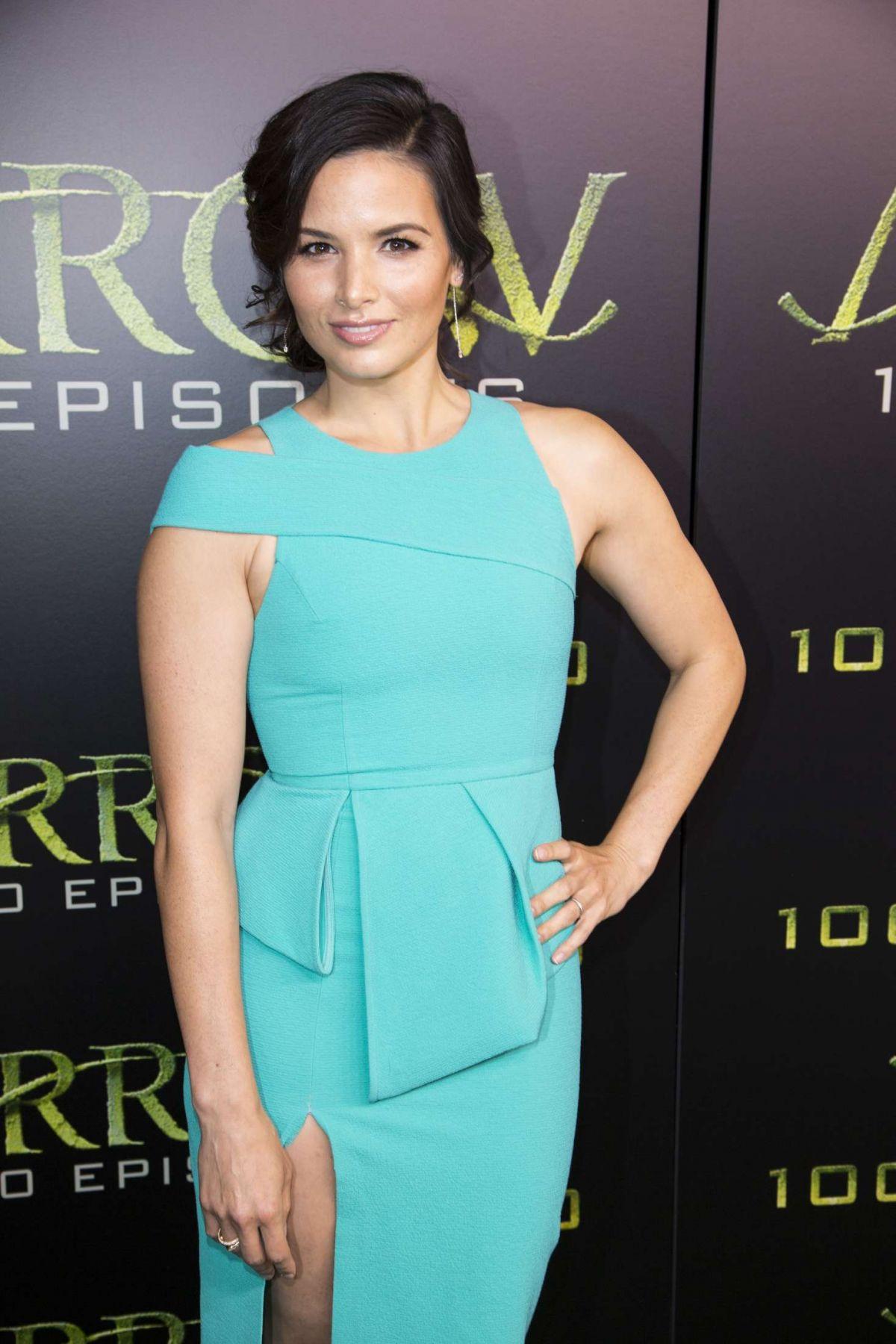 KATRINA LAW at 'Arrow' 100th Episode Celebration in Vancouver 10/22/2016
