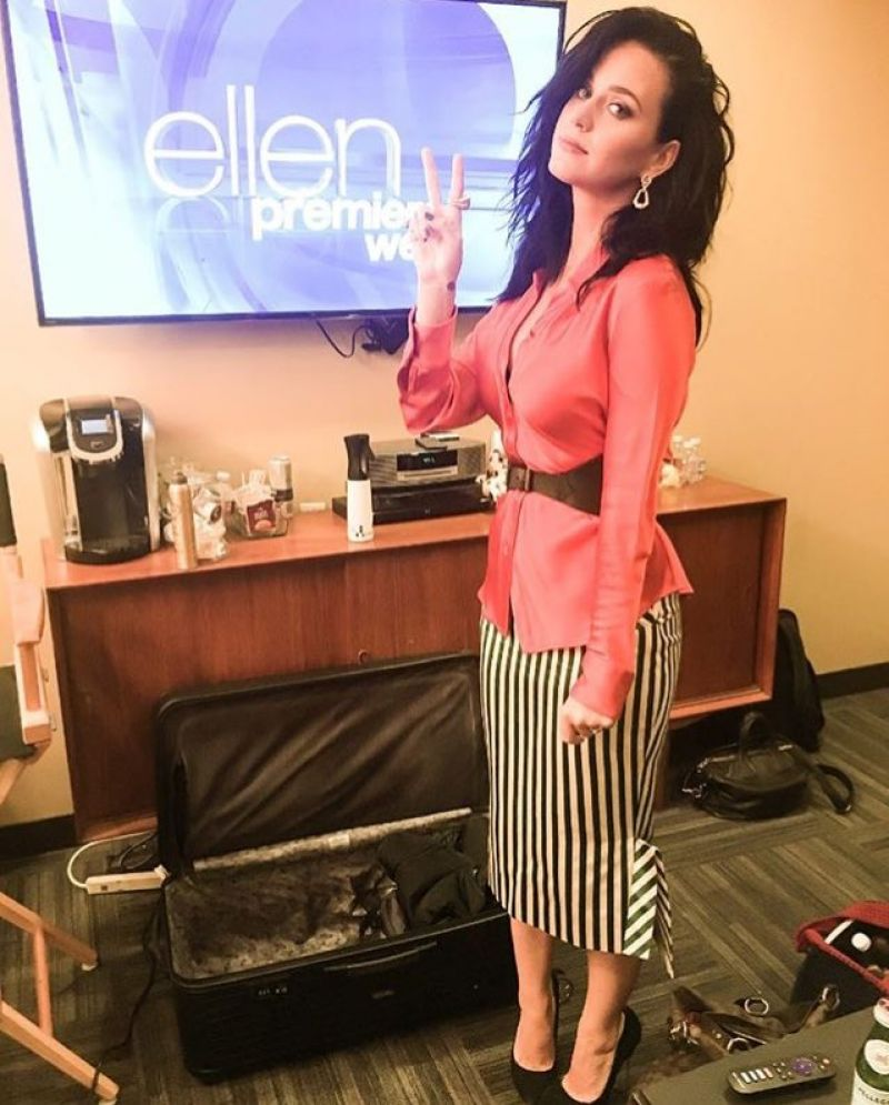 KATY PERRY at Ellen DeGeneres Show 09/07/2016