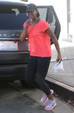 KELLY ROWLAND Out and About in Los Angeles 10/22/2016