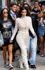 KIM KARDASHIAN Leaves Her Hotel in New York 10/07/2016