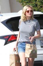 KIRSTEN DUNST Out and About in Los Angeles 10/13/2016